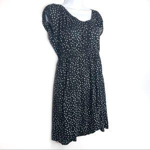 Theory Polka Dot Tunic Dress